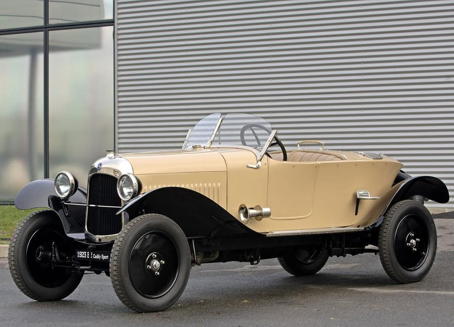 10 HP Type B2 Roadster Sport Caddy 1923 successor to the Type A