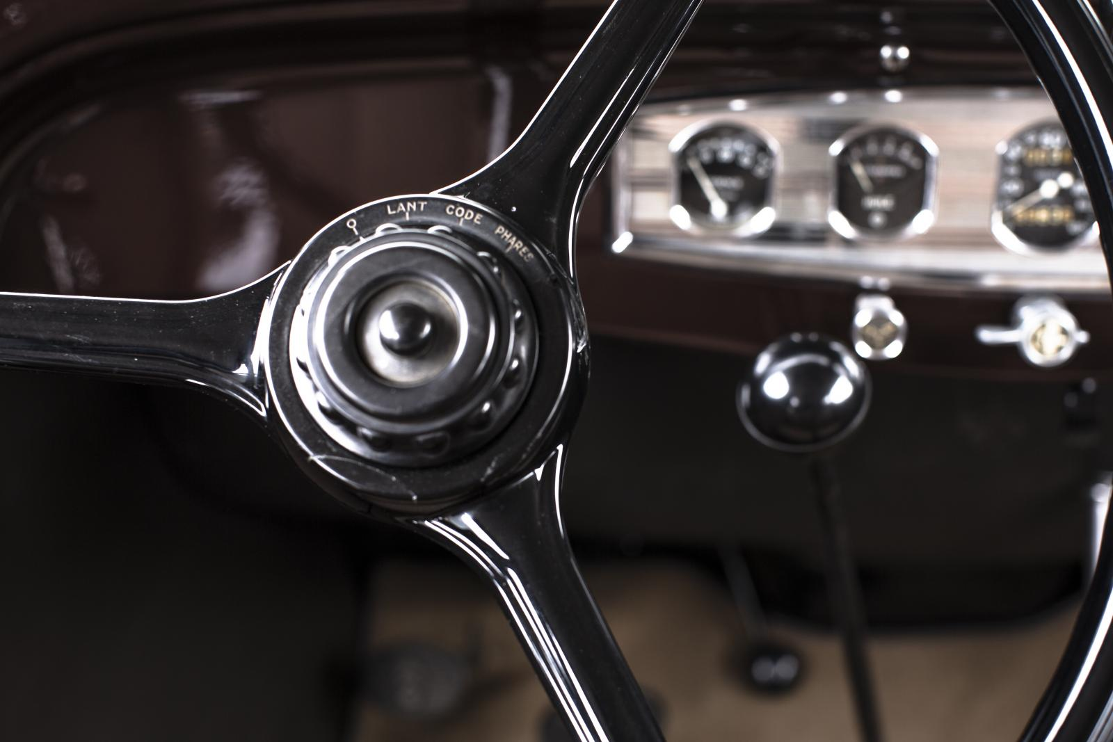 Rosalie dashboard and steering wheel