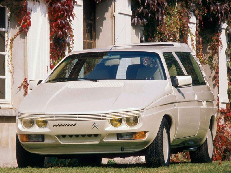 Aventure 1986 concept by Sbarro based on C15