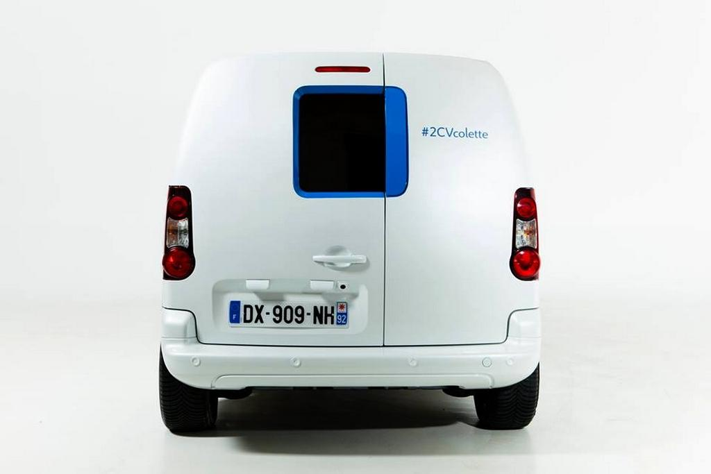 Berlingo Colette 2016 rear