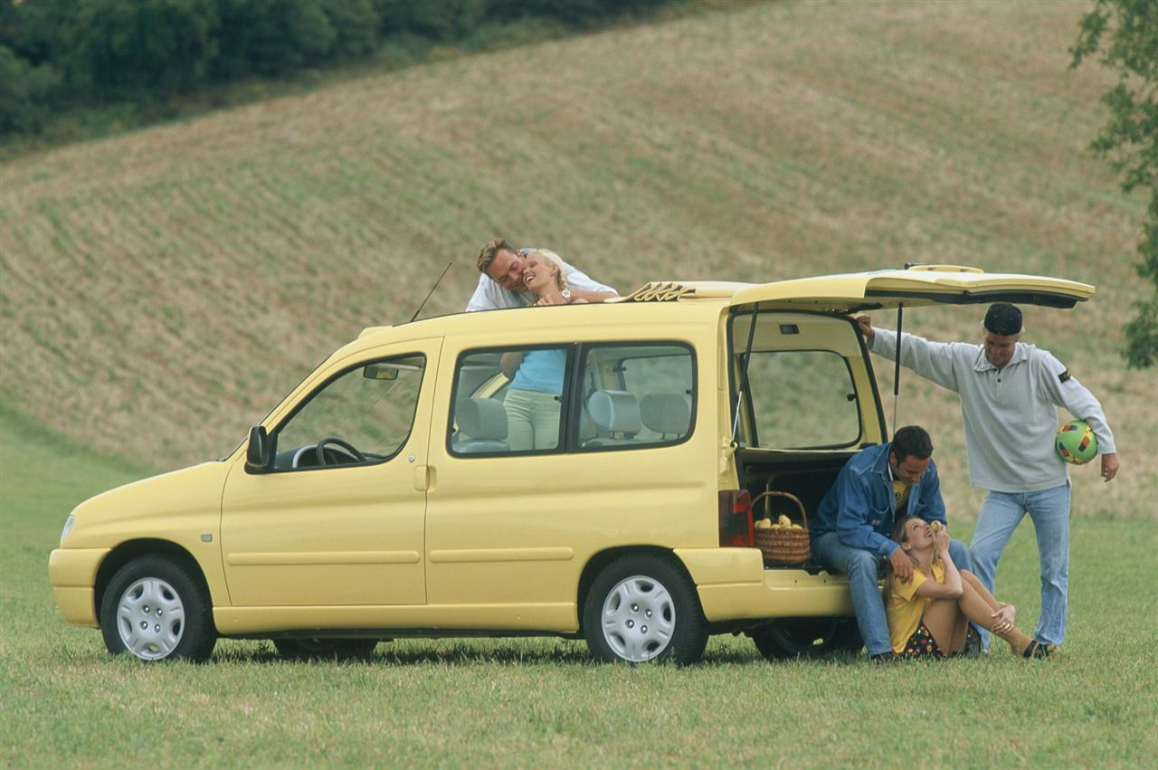 Berlingo Grand Large 1996 concept 3/4 front