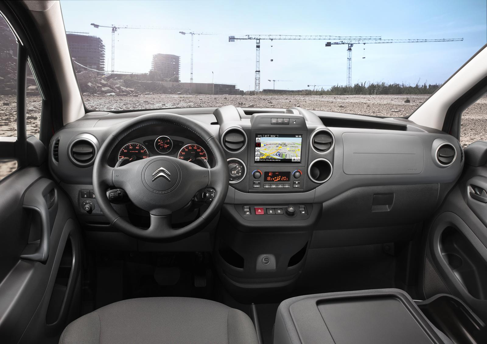 Inside Berlingo van 2015