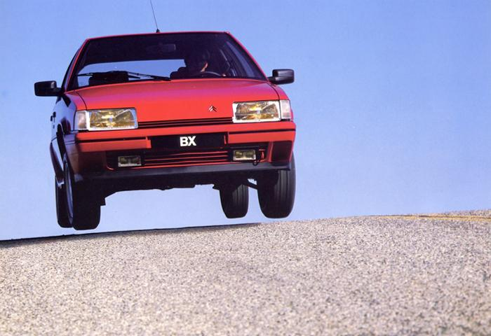 BX 19 GTi 1986 front view
