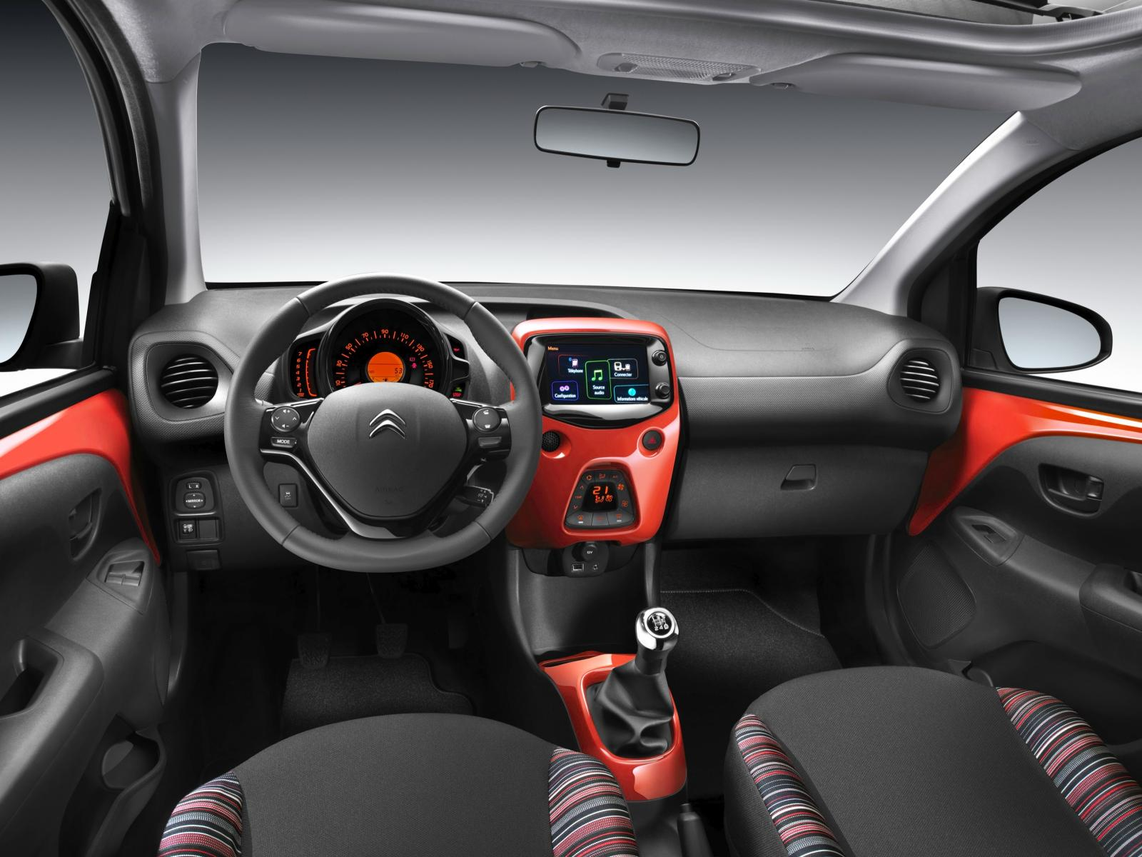C1 Airscape Feel Edition 2014 interior Pack Color Sunrise Red