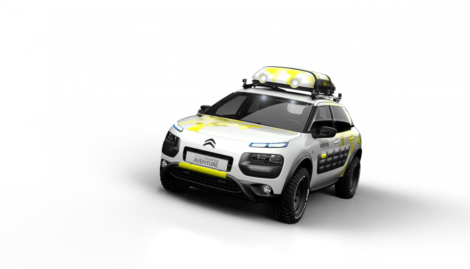 Concept-car C4 Cactus Adventure 2014 3/4 front