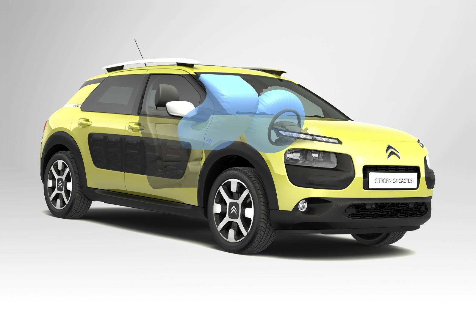 C4 Cactus Feel edition 2014 Airbags