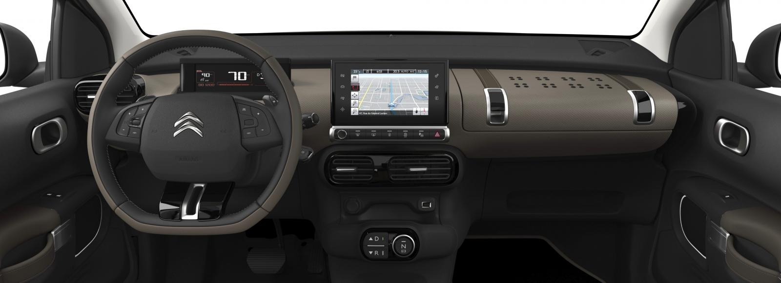 C4 Cactus Shine edition 2014 dash car
