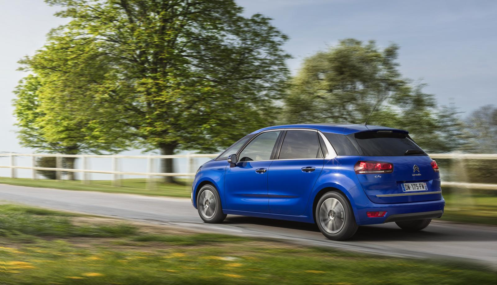 C4 Picasso Shine 2016 rear 3/4