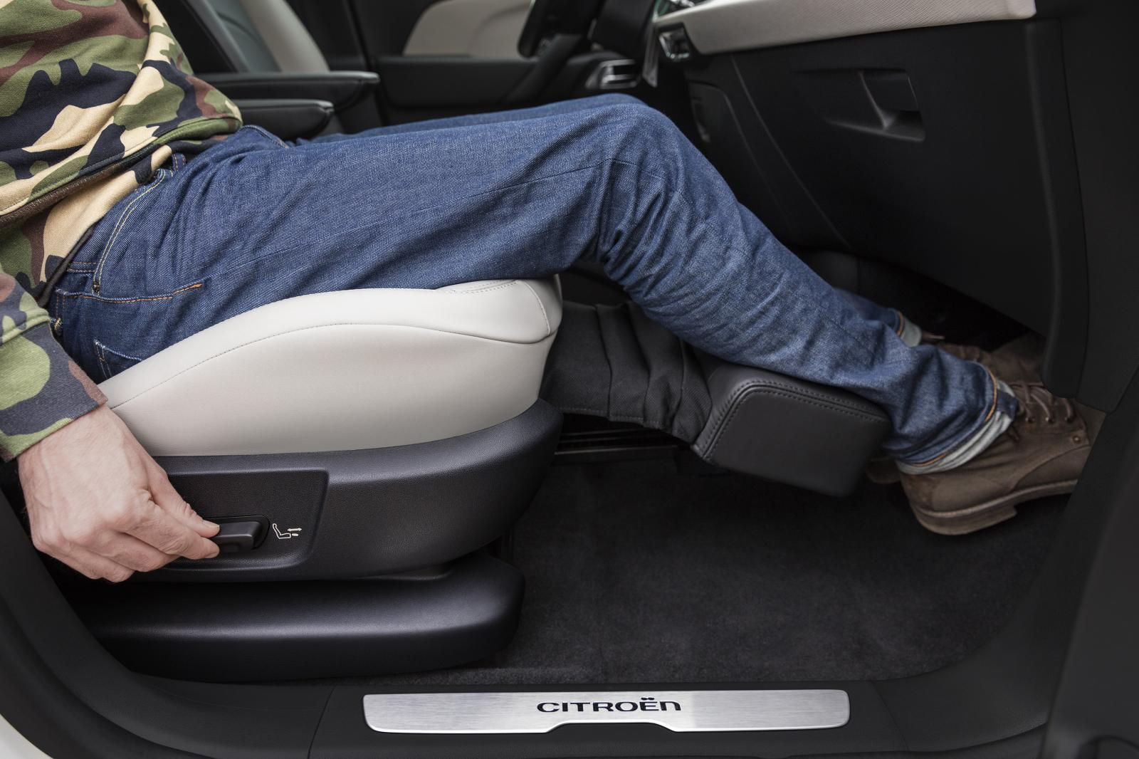 C4 Picasso Shine 2016 Pack Lounge footrest