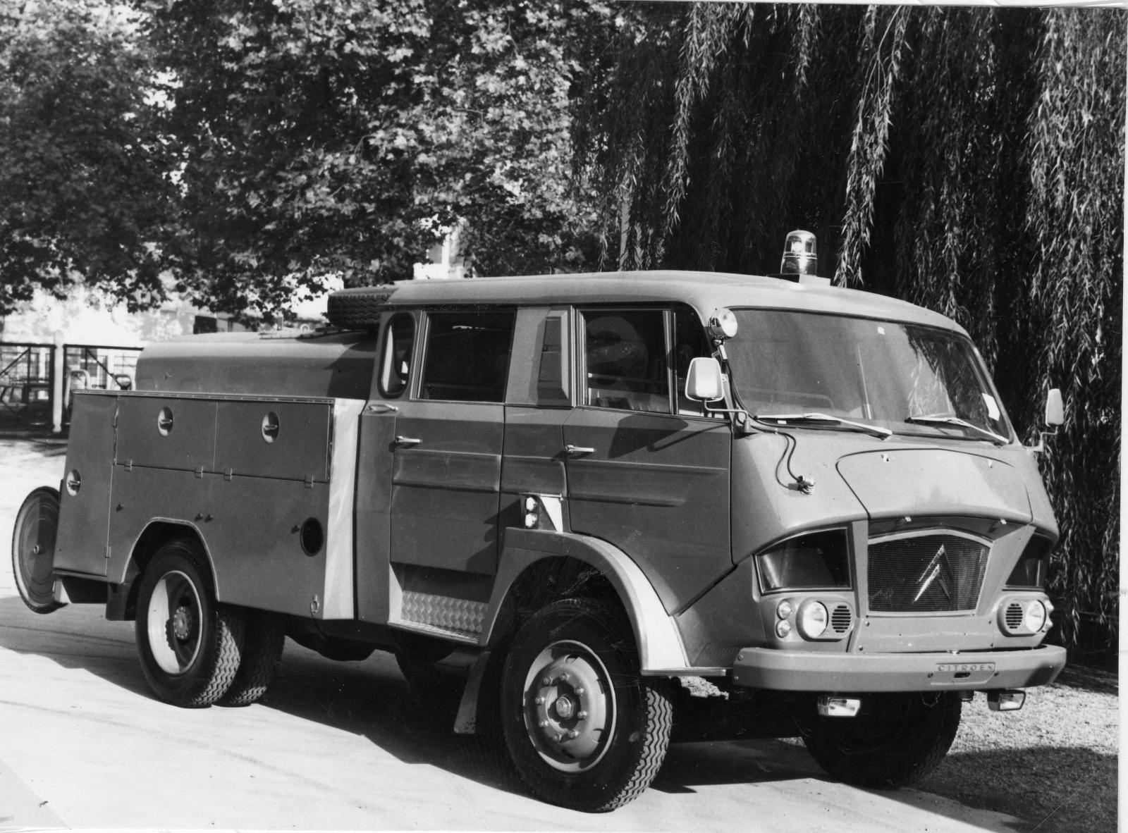 Citroën Type 700 fire engine