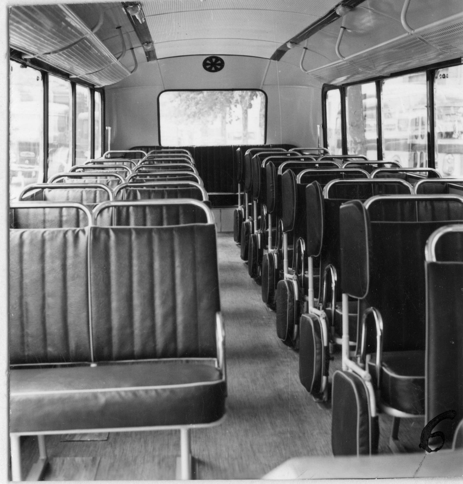 Inside the U23 school bus