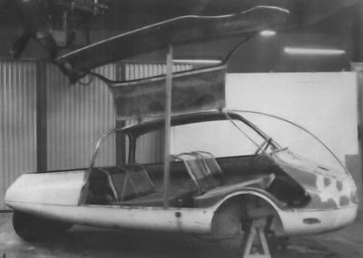 C10 Coccinelle prototype 1955 door opened