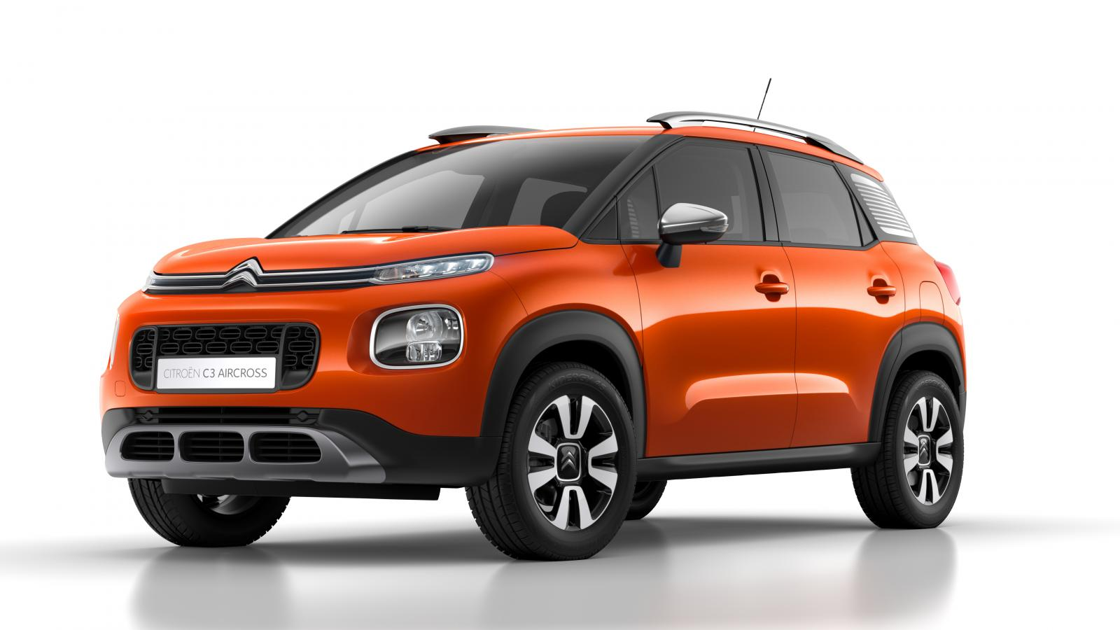 C3 Aircross Compact SUV- Spicy Orange