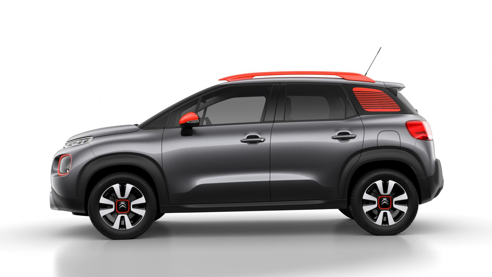 C3 Aircross Compact SUV - Misty Grey