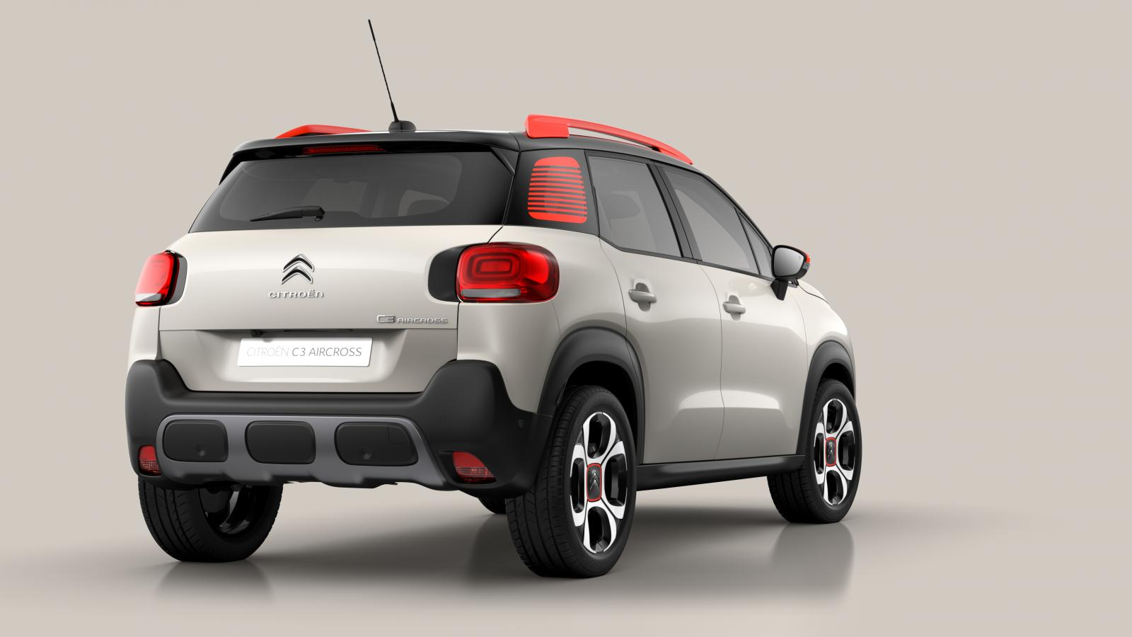 SUV Compact C3 Aircross - 3/4 arrière