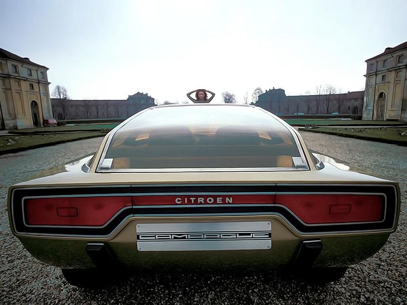 GS Camarque 1972 concept rear view
