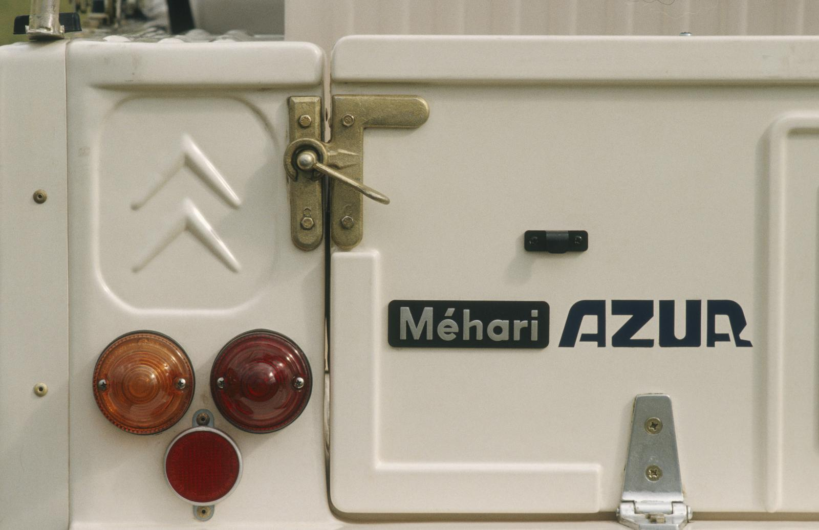 Mehari AZUR 1983 details rear lights