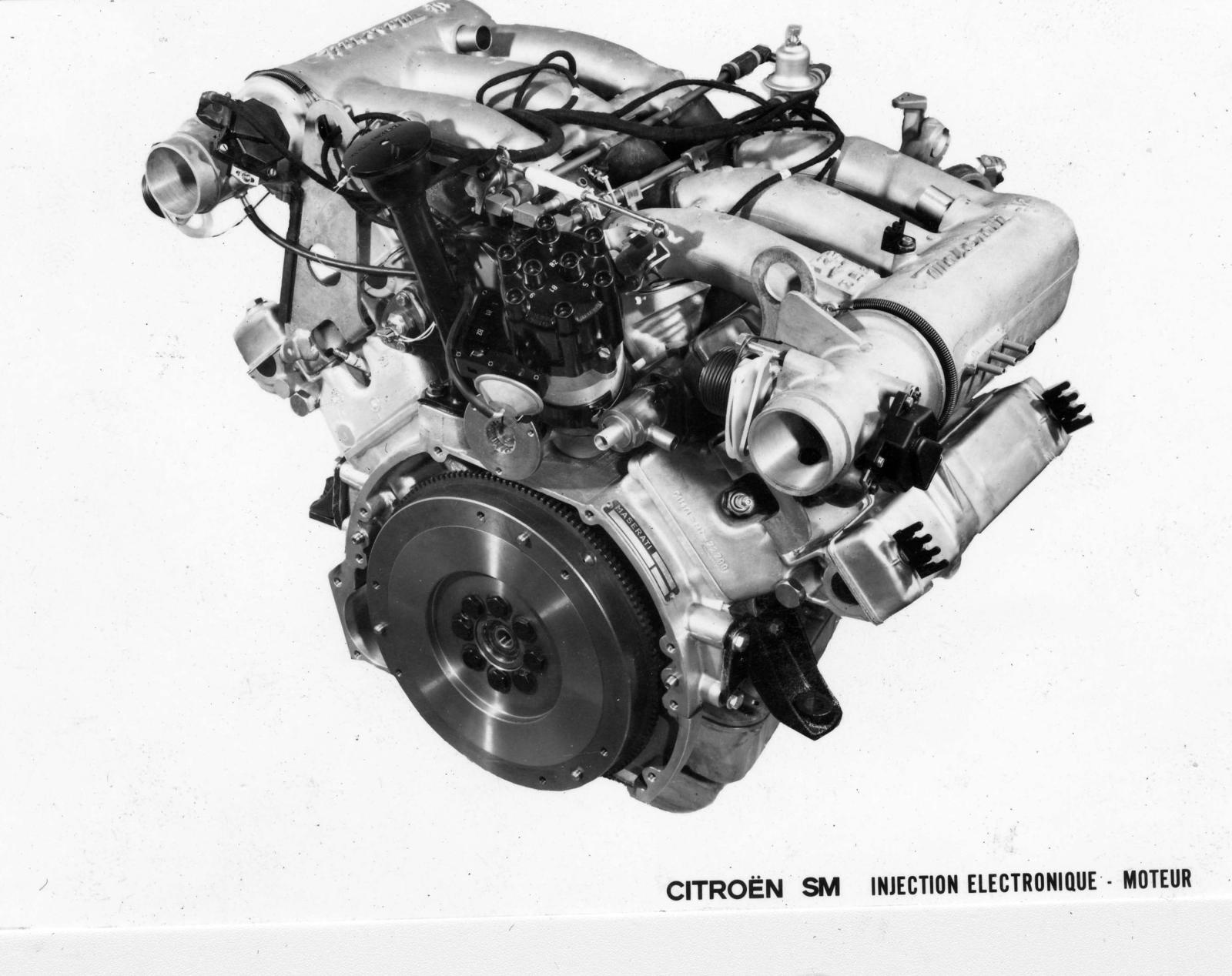 SM Electronic injection engine