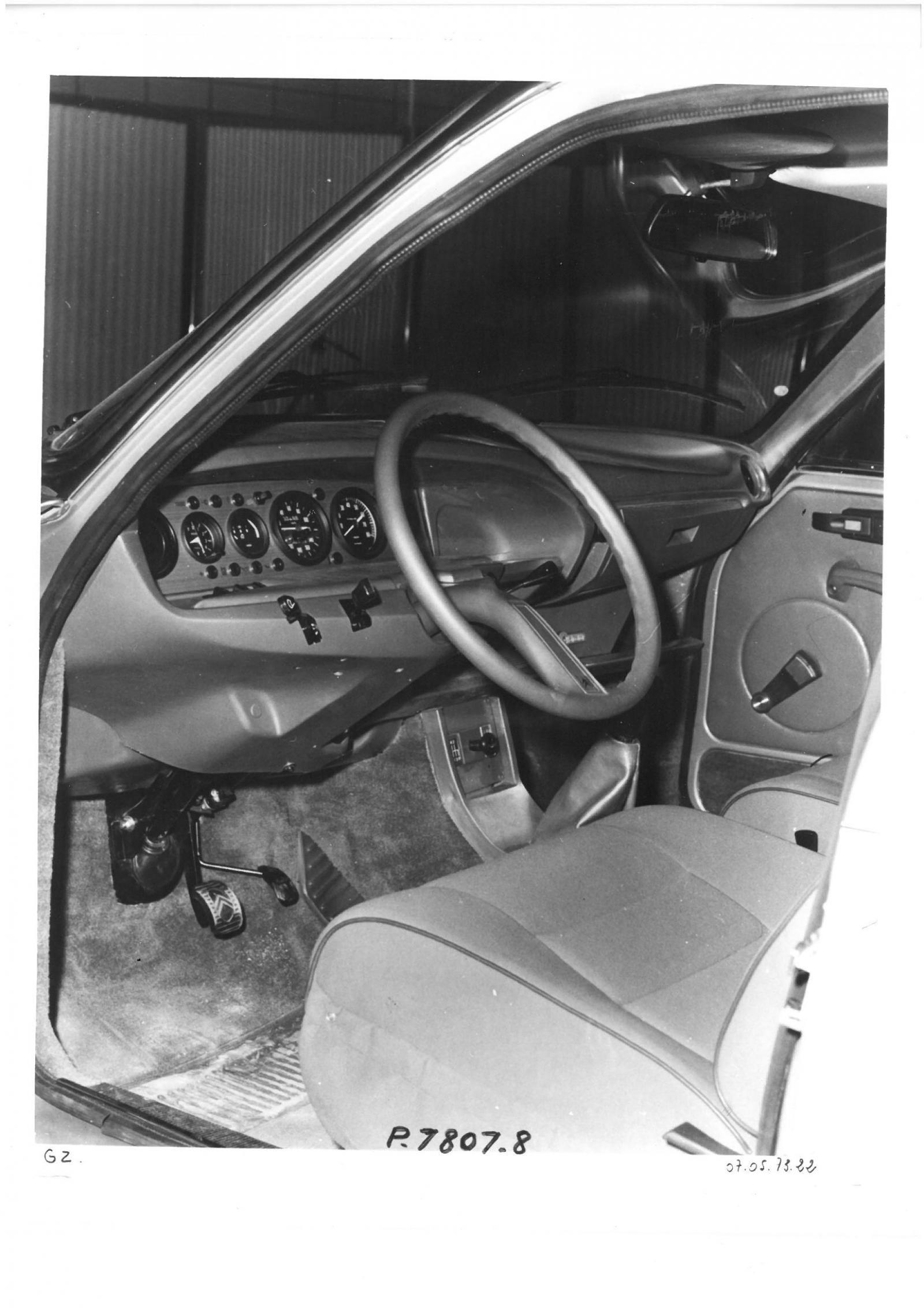 GS Birotor dashboard