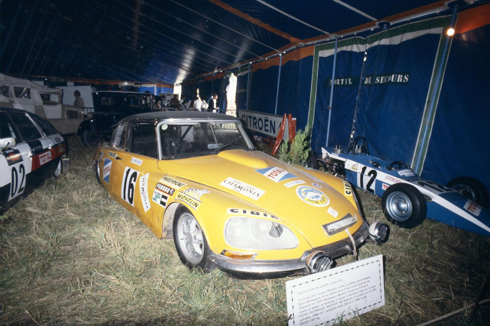 Prototype DS Coupe rally-1972