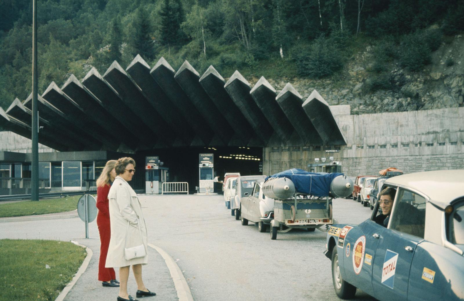 Rally of Morocco - Tunnel-DS-1970