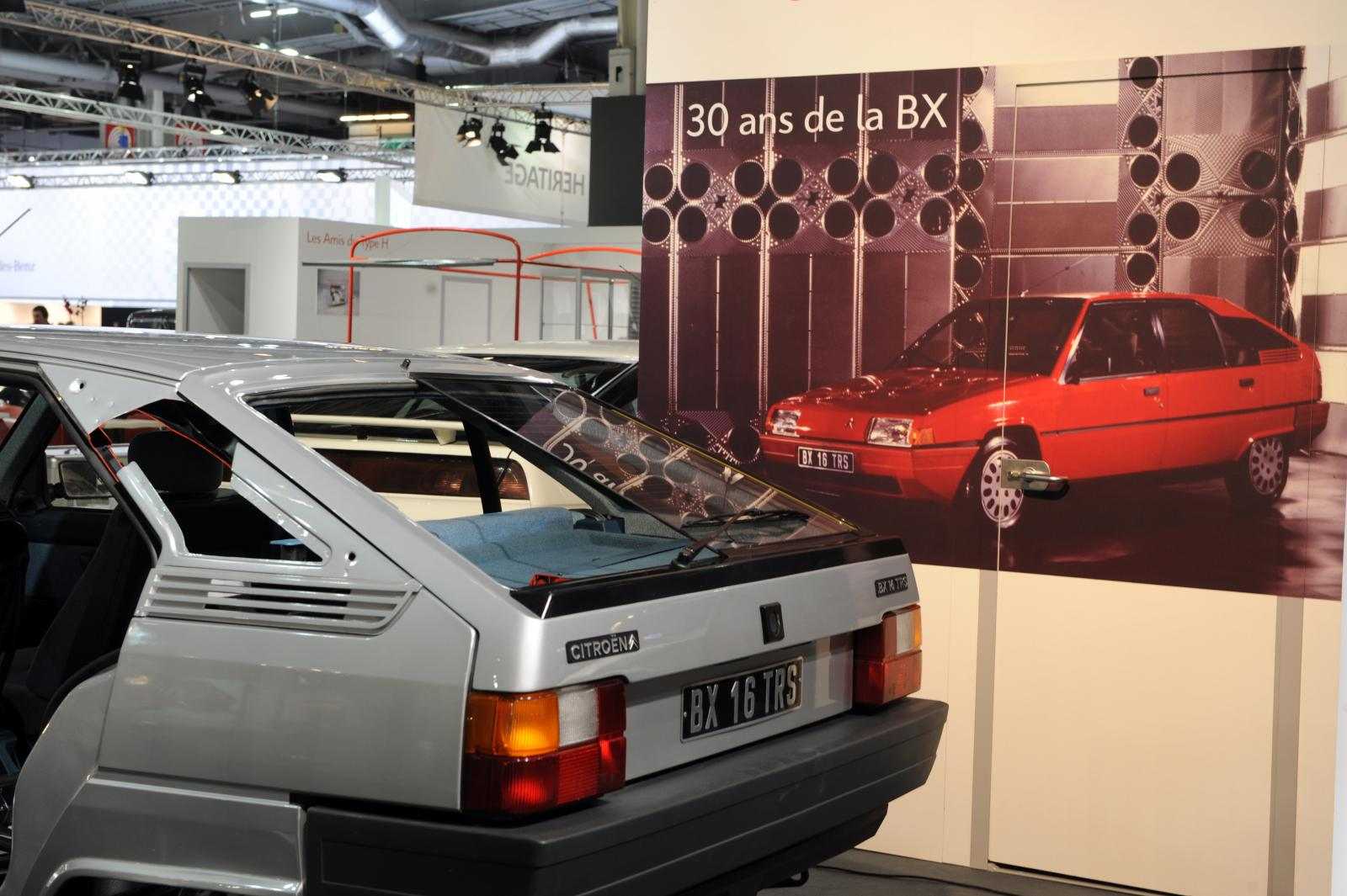 Citroën Héritage stand at Retromobile Exhibition 2012