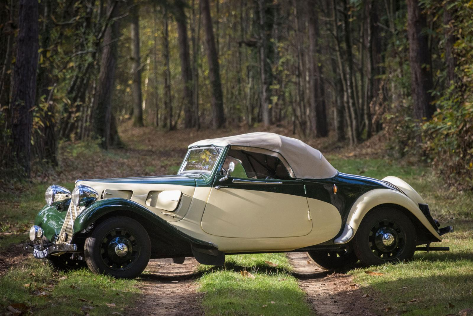 Traction 11 convertible 1937