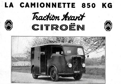 TUB 1939 Citroën announcement