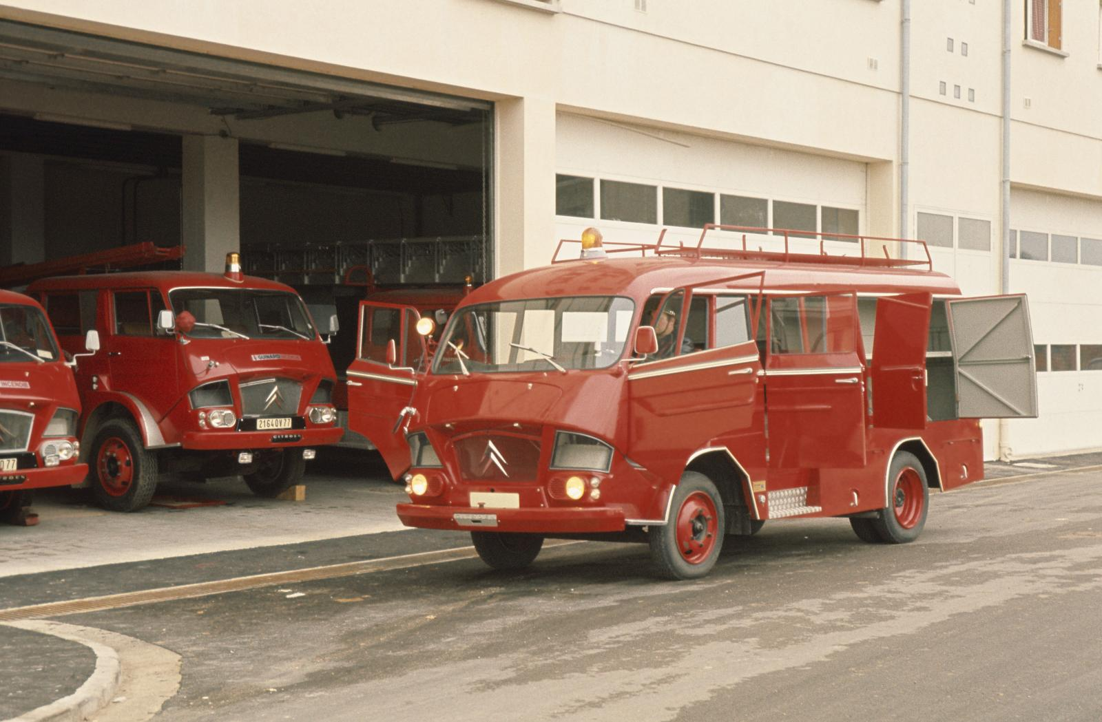 Type 350 Firefighters - 1967