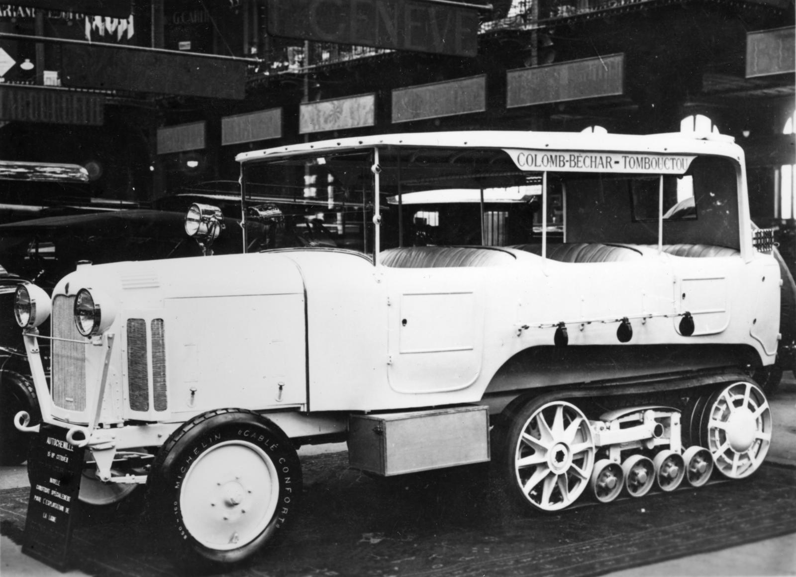 Type P6 - Sahara Raid Vehicle presented at the 1924 Salon
