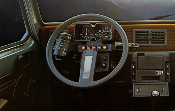 Visa Super 1978 car board