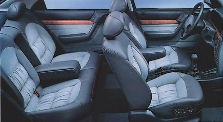 Inside Xantia 2.0i Exclusive 1995