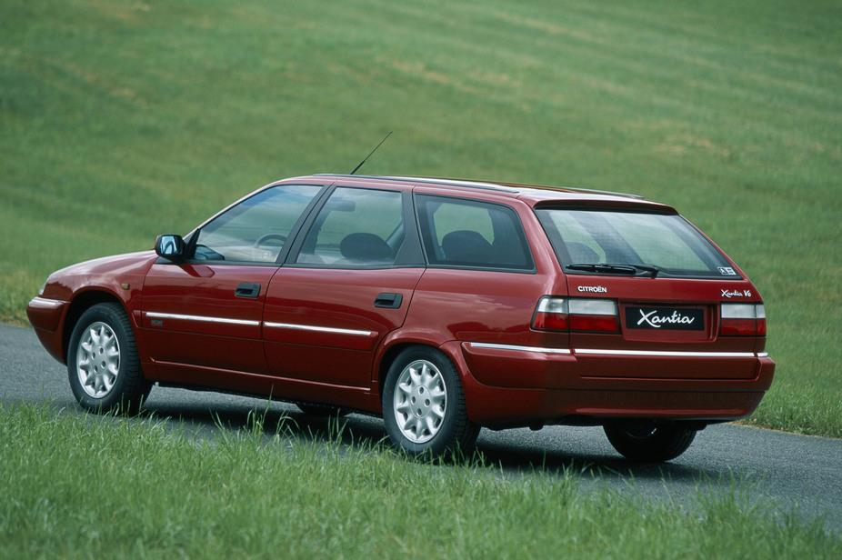 Xantia Break V6 Exclusive 1998 rear 3/4