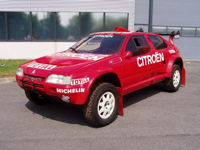 ZX Rallye Raid 1993 at the conservatory